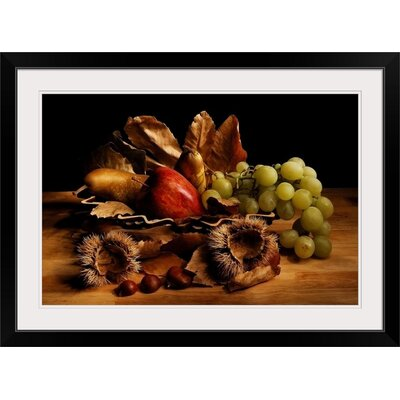 """'Natura Morta by Stefano Paolini Photographic Print Format: Black Frame, Size: 17"""" H x 23"""" W x 1"""" D 2352095_15_18x12_none"""