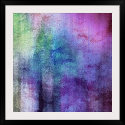 """'Abstract Painting Print Format: Black Frame, Size: 35"""" H x 35"""" W x 1"""" D 2279214_15_30x30_none"""