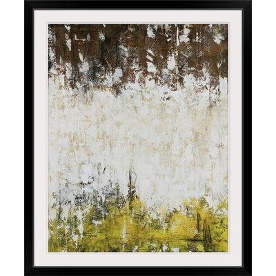 "'Barnyard' Joshua Schicker Painting Print Size: 20"" H x 17"" W x 1"" D, Format: Black Framed 1973253_15_12x15_none"