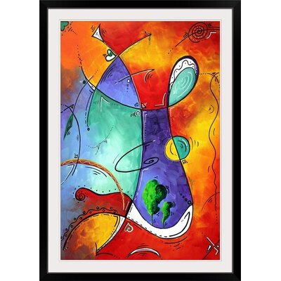 "'Free At Last' by Megan Duncanson Graphic Art Print Size: 23"" H x 17"" W x 1"" D, Format: Black Framed 1162037_15_12x18_none"