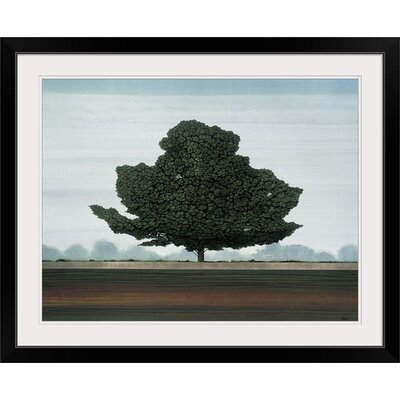"""'Majestic' by Robert Charon Painting Print Format: Black Frame, Size: 17"""" H x 21"""" W x 1"""" D 2348184_15_16x12_none"""