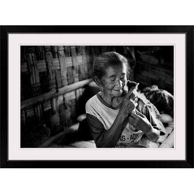 "'Her Tiny Friend' by Mieke Suharini Photographic Print Format: Black Frame, Size: 17"" H x 23"" W x 1"" D 2356090_15_18x12_none"