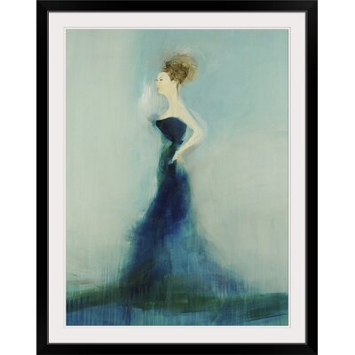 """'Graceful' by Sarah Stockstill Painting Print Format: Black Frame, Size: 21"""" H x 17"""" W x 1"""" D 2389246_15_12x16_none"""