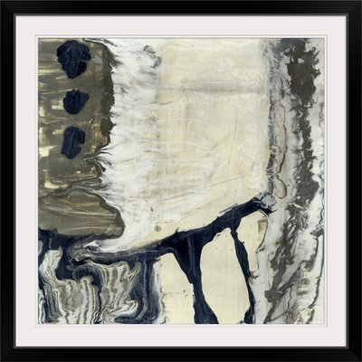 "'The Glass Blower II' Jennifer Goldberger Painting Print Size: 35"" H x 35"" W x 1"" D, Format: Black Frame 2445822_15_30x30_none"