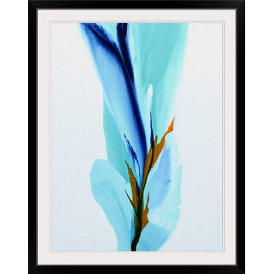 "'Spring's Calling Card' Patricia Coulter Painting Print Size: 29"" H x 23"" W x 1"" D, Format: Black Frame 2414728_15_18x24_none"