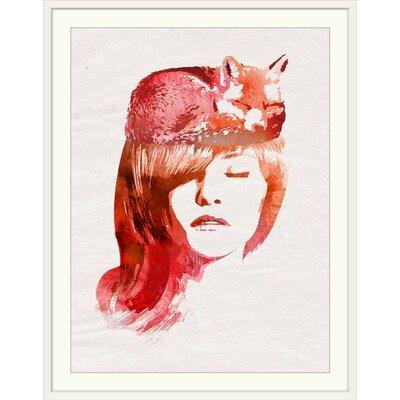 "'Perfect Silence' Robert Farkas Graphic Art Print Format: White Frame, Size: 38"" H x 31"" W x 1"" D 2326115_21_23x30_none"