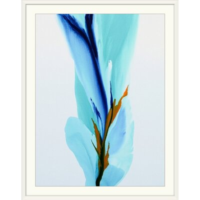 "'Spring's Calling Card' Patricia Coulter Painting Print Size: 21"" H x 17"" W x 1"" D, Format: White Frame 2414728_21_12x16_none"