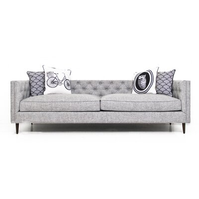 Zuma Pumice Chesterfield Sofa