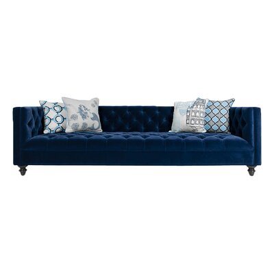 Navy Chesterfield Sofa