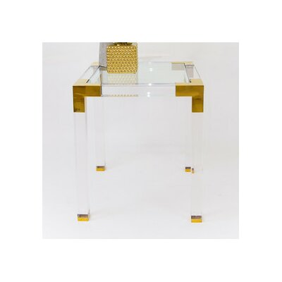 Lucite Trousdale End Table