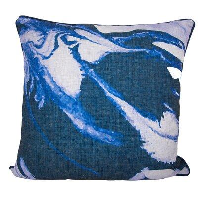 Watercolor Linen Throw Pillow