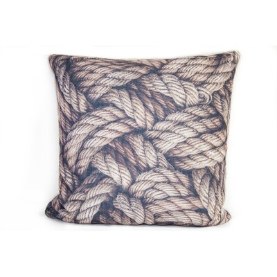 Rope Linen Throw Pillow