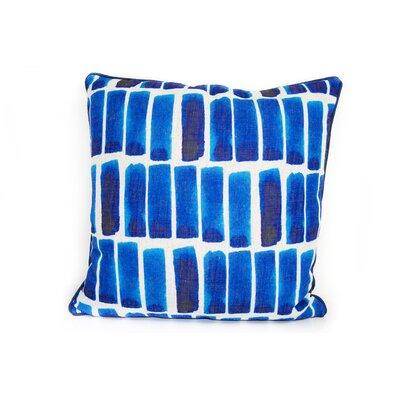 Watercolor Bars Linen Throw Pillow