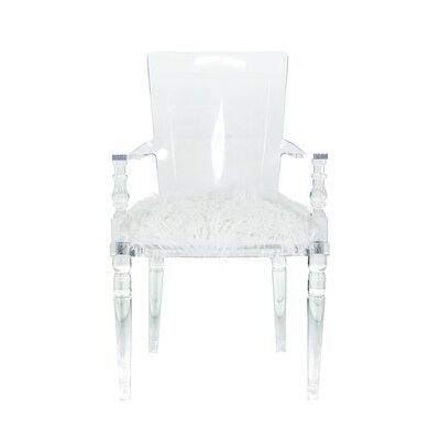 Juliette Lucite Arm Chair