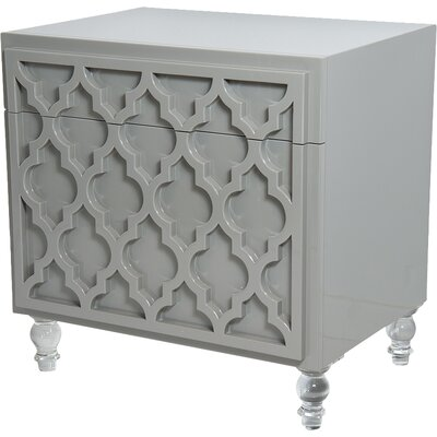 Tangier End Table with Storage