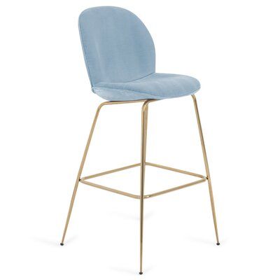 Amalfi 27 Bar Stool Color: Capri Blue