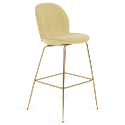 Amalfi 27 Bar Stool Color: Hollandaise