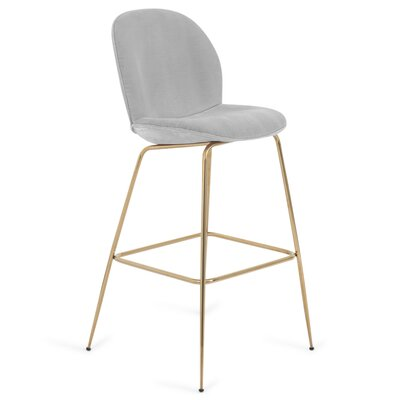 Amalfi 30 Bar Stool Color: Sharkskin