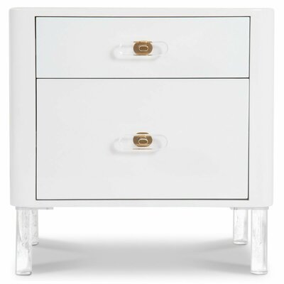 Ibiza 2 Drawer Nightstand