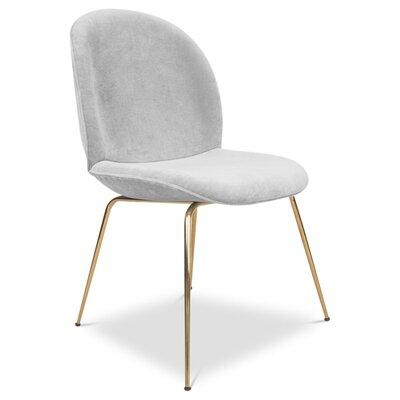 Amalfi Upholstered Dining Chair Upholstery: Sharkskin