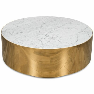 Ibiza Coffee Table Table Base Color	: Polished Brass