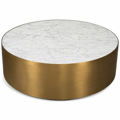 Ibiza Coffee Table Table Base Color	: Brushed Brass
