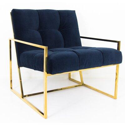 Santorini Armchair Upholstery: Navy