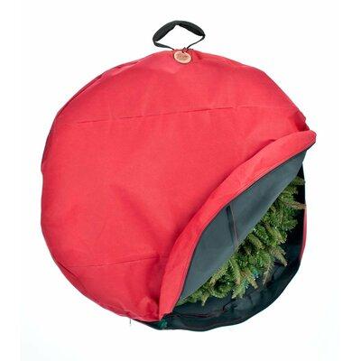Santa's Bags Premium Christmas Wreath Storage Bag with Direct-Suspend Handle