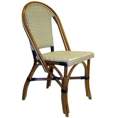 French Bistro Side Chair (Set of 2) Color: Ivory Polyamide