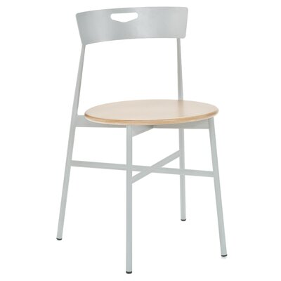 Cafe Rio Side Chair (Set of 2) Color: Natural Wood