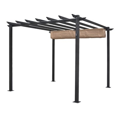 Latina 10 Ft. W x 10 Ft. D Metal Pergola