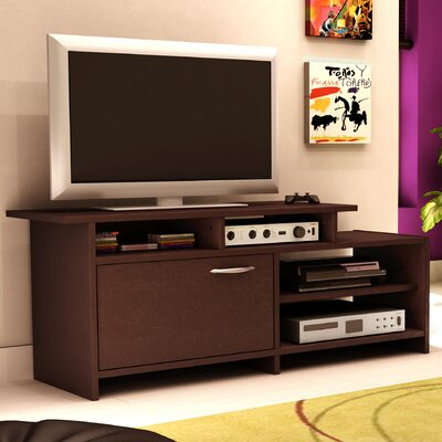 Berning 52 TV Stand Color: Chocolate