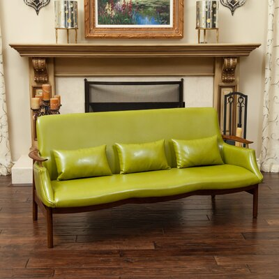 Viennes Sofa Upholstery: Green