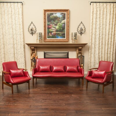 Viennes 3 Piece Living Room Set