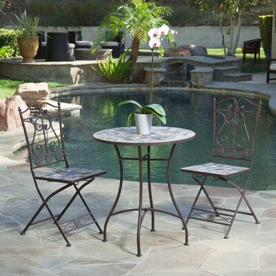 Evanston Brook 3 Piece Dining Set
