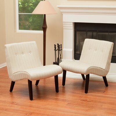 Belknap Slipper Chair Color: Oatmeal