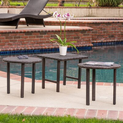 Lido 3 Piece Table Set