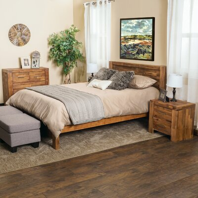 Montero Panel 4 Piece Bedroom Set
