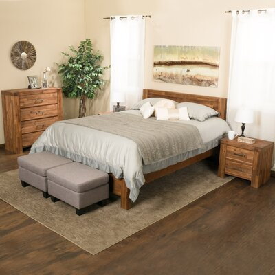Montero Platform 4 Piece Bedroom Set