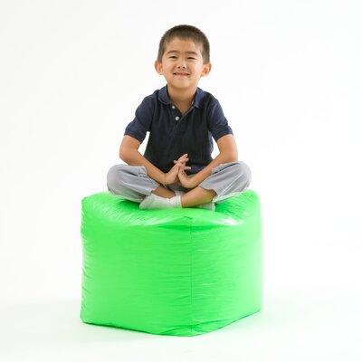 Parker Pouf Upholstery: Green
