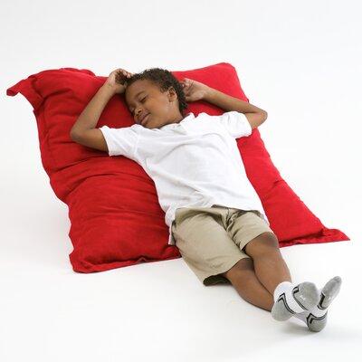Caroline Bean Bag Lounger Upholstery: Red