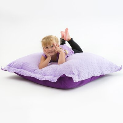 Caroline Bean Bag Lounger Upholstery: Purple