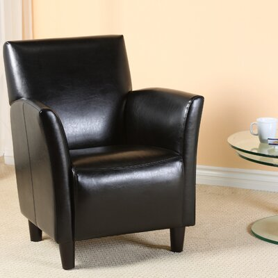 Lawson Armchair Upholstery: Black