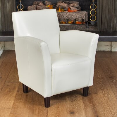 Lawson Armchair Color: Off White