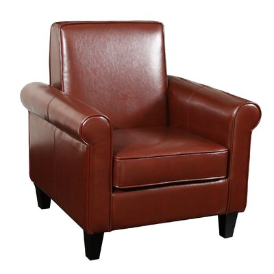 Brooks Club Chair Upholstery: British Tan