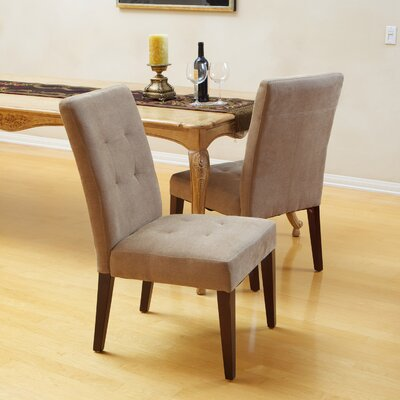 Talib Tufted Dining Chair Upholstery: Cream
