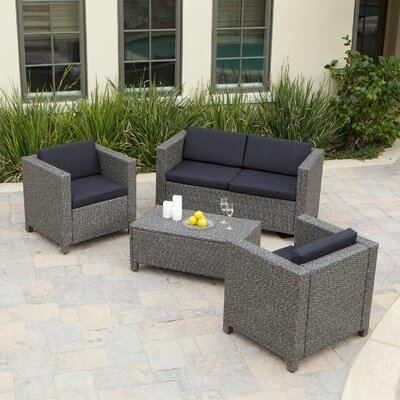 Puerta Outdoor Wicker Sofa Set