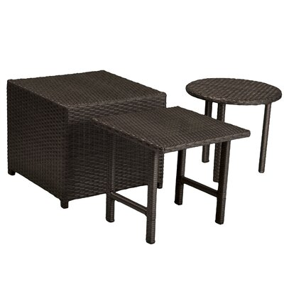 Jakarta Wicker Table Set