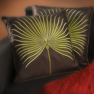 Anna Embroidered Throw Pillow