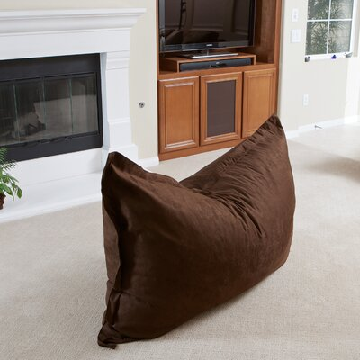 Chandler Bean Bag Chair Upholstery: Brown